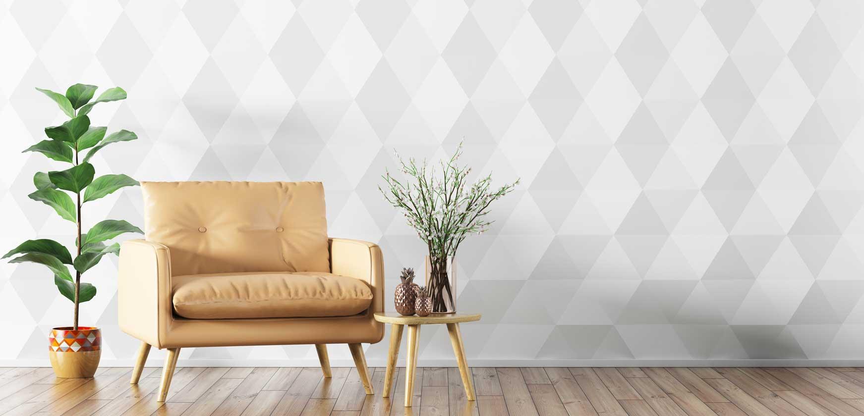 Muehlviertler Baumesse Wand mit Design-Sitzmoebel